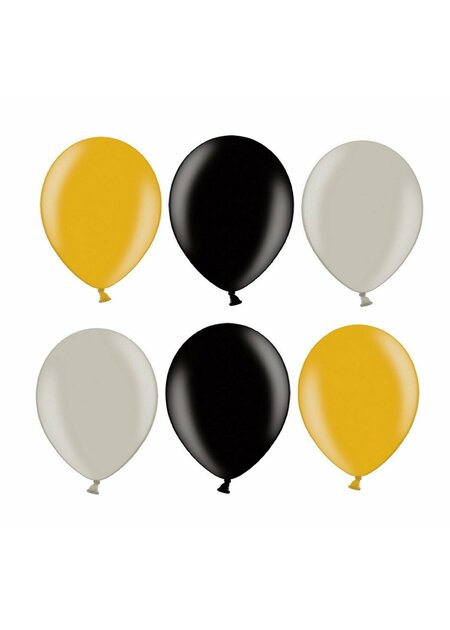 12 Teile Happy Birthday Luftballons 70 in gold