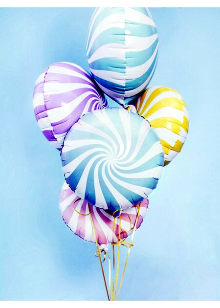 Folienballon Candy light blue - 45cm