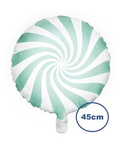 Folienballon Candy mint - 45cm