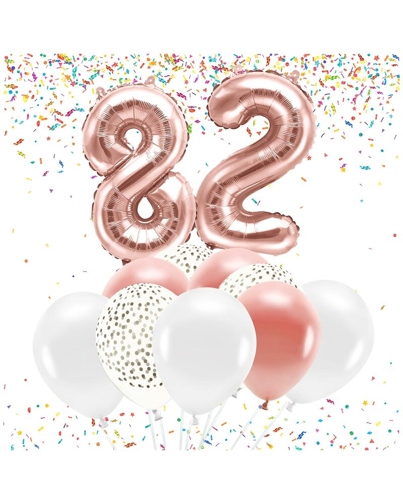 ZAHLEN BALLONS Nr 1 erster Geburtstag Jubiläum Luftballon Jahr Party Deko F08201